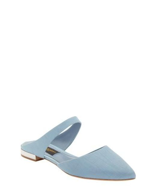 tumblr online best place Donna Karan Satin Pointed-Toe Mules discount free shipping Bmt2IUnRom