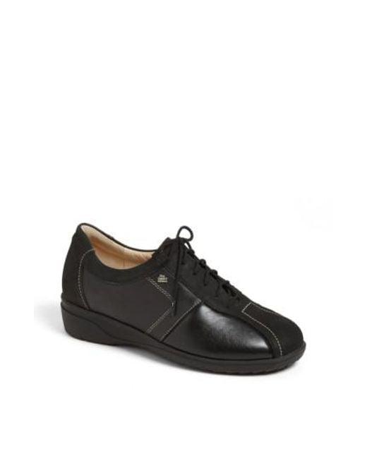 Finn Comfort - Black 'ostende' Flat - Lyst