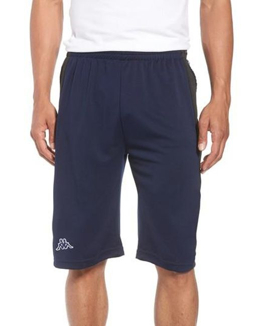 d6ed4bd11bb37 Lyst - Kappa Banda Shorts in Blue for Men