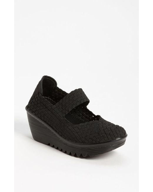 Bernie Mev | Black 'lulia' Wedge | Lyst