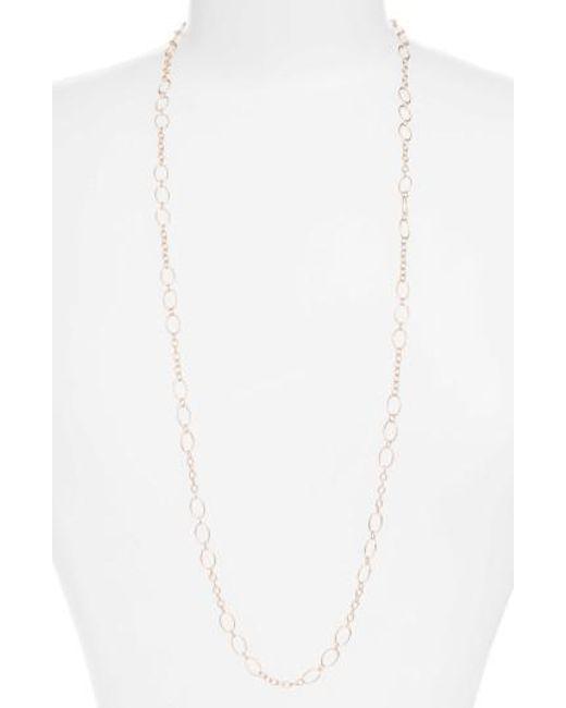 Argento Vivo | White 36-inch Layering Chain | Lyst