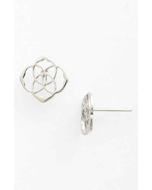 Kendra Scott | Metallic 'dira' Stud Earrings | Lyst