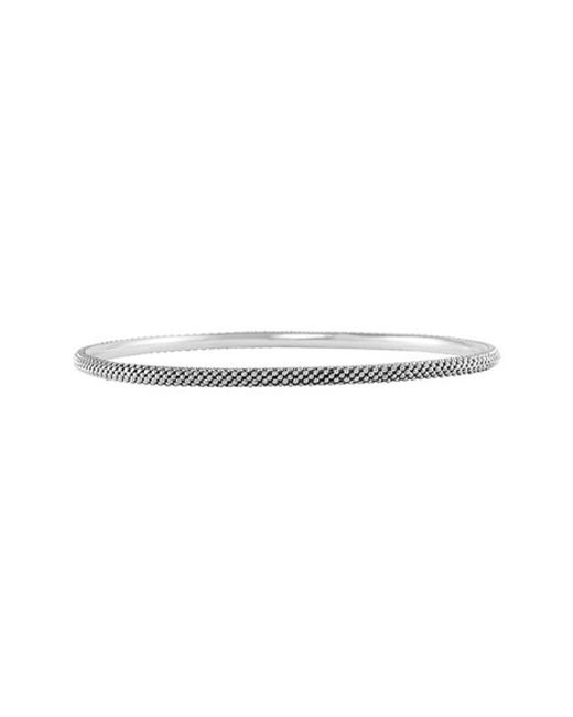 Lagos | Metallic Caviar Bangle | Lyst