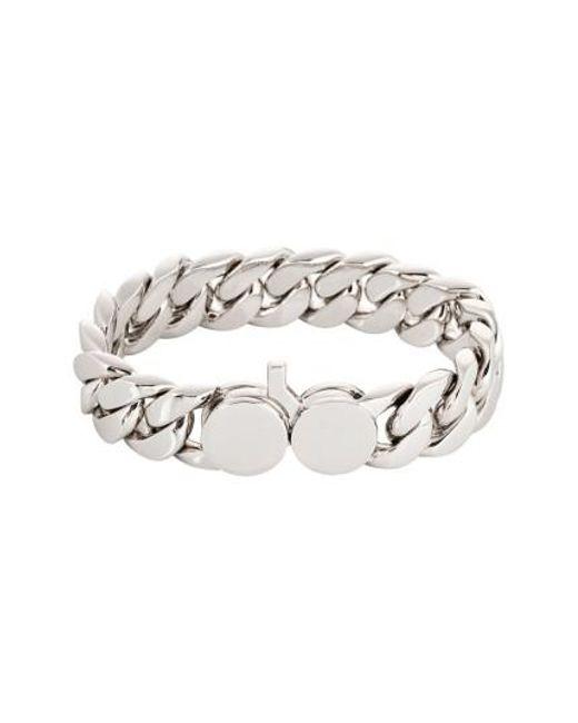 Tom Wood - Metallic Slim Silver Chain Link Bracelet - Lyst