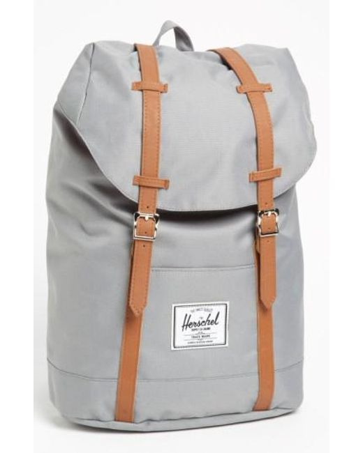 Herschel Supply Co. | Gray 'retreat' Backpack for Men | Lyst