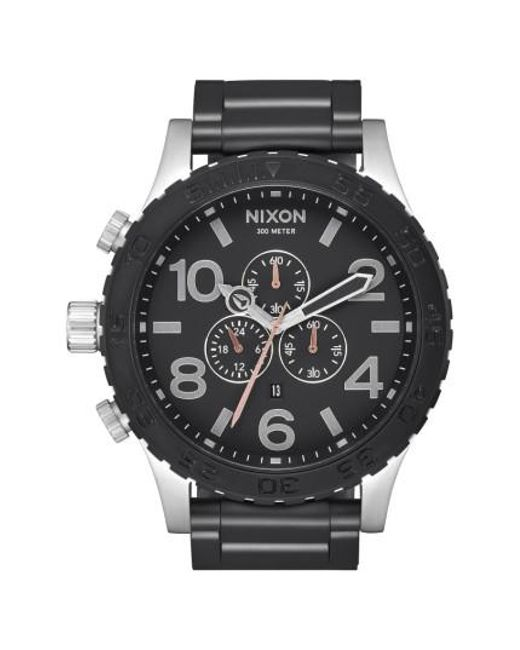 Nixon | Black 51-30 Chronograph Watch for Men | Lyst