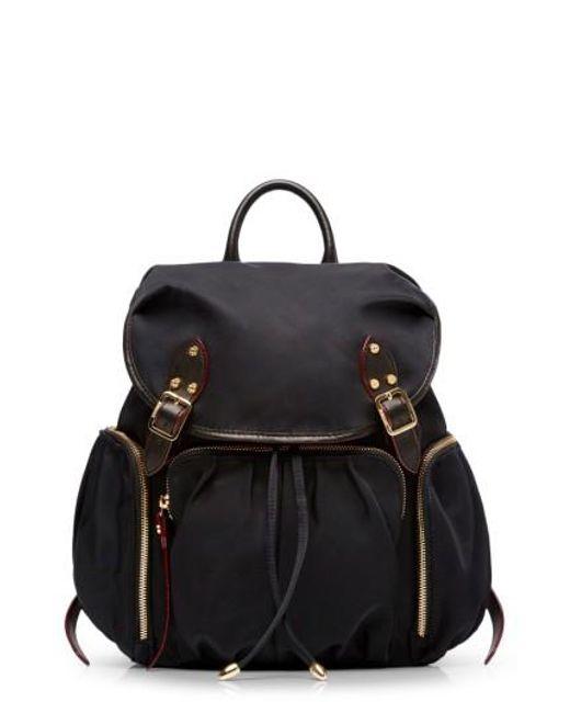 MZ Wallace   Black 'marlena' Bedford Nylon Backpack   Lyst