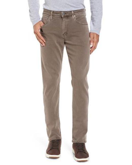 PAIGE   Multicolor Transcend - Federal Slim Straight Fit Jeans for Men   Lyst
