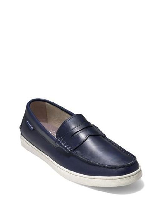 Cole Haan - Blue Pinch Penny Loafer for Men - Lyst