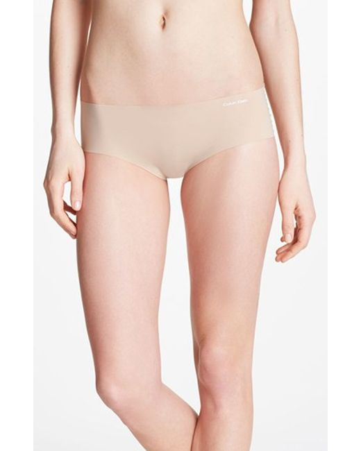 Calvin Klein | Brown 'invisibles' Hipster Briefs | Lyst