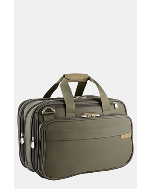 Briggs & Riley | Green Expandable Cabin Bag for Men | Lyst