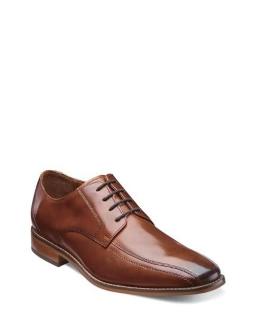 Florsheim | Brown 'castellano' Bicycle Toe Derby for Men | Lyst