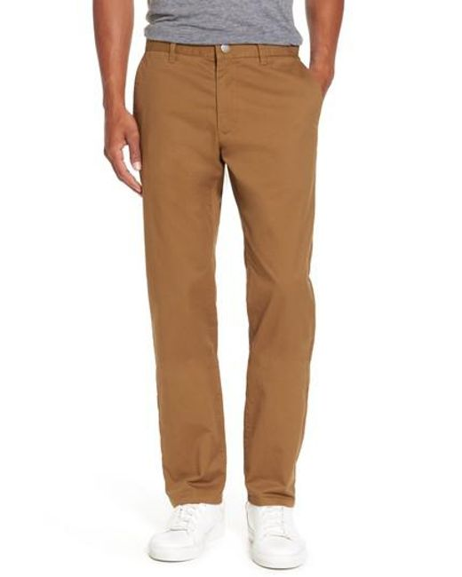 Bonobos - Natural Slim Fit Stretch Washed Chinos for Men - Lyst