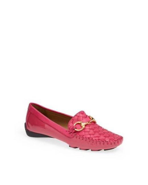 Robert Zur | Pink 'perlata' Loafer | Lyst