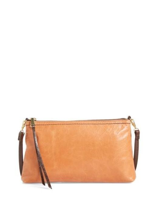 Hobo   Brown 'darcy' Leather Crossbody Bag   Lyst
