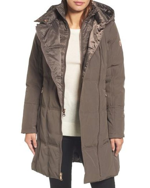 Vince Camuto | Multicolor Down & Feather Fill Coat | Lyst