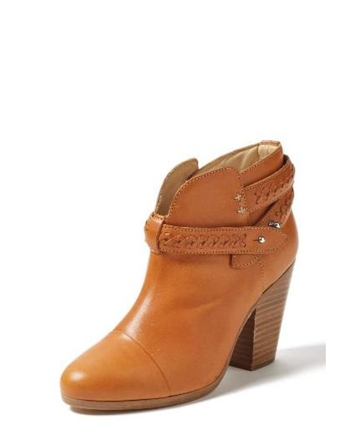 Rag & Bone | Brown 'harrow' Leather Boot | Lyst