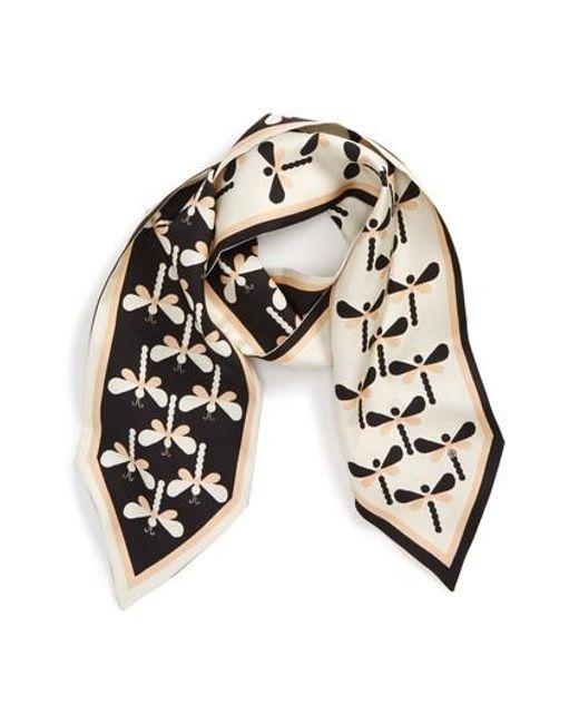 Tory Burch | Black Dragonfly Silk Necktie | Lyst