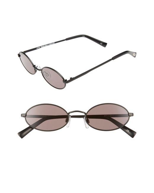 Le Specs - Metallic Love Train 51mm Oval Sunglasses - Lyst