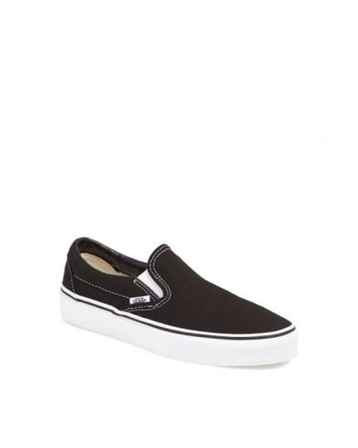 Vans | Black Classic Sneakers | Lyst