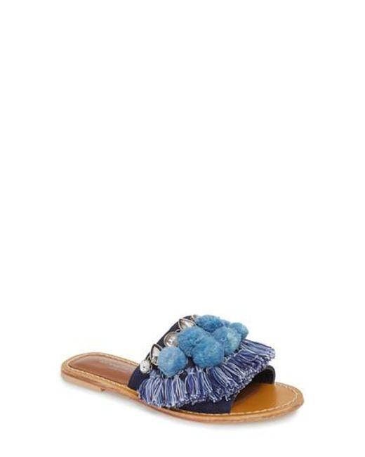 Kenneth Cole - Blue Osmond Slide Sandal - Lyst