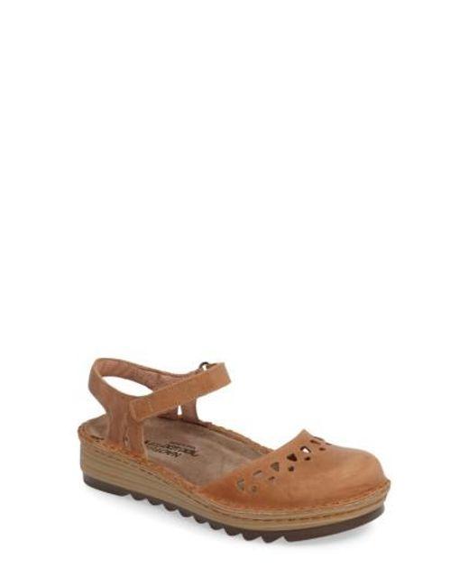 Naot - Brown Verbena Sandal - Lyst