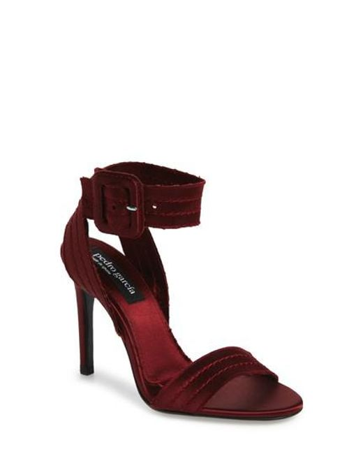 Pedro Garcia - Red Catalina Sandal - Lyst