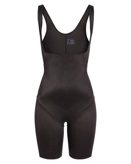 Tc Fine Intimates | Black Torsette Underbust Mid Thigh Bodysuit Shaper | Lyst