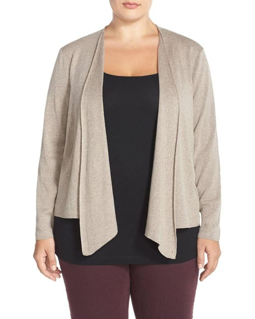 NIC+ZOE - Black 4-way Convertible Cardigan - Lyst