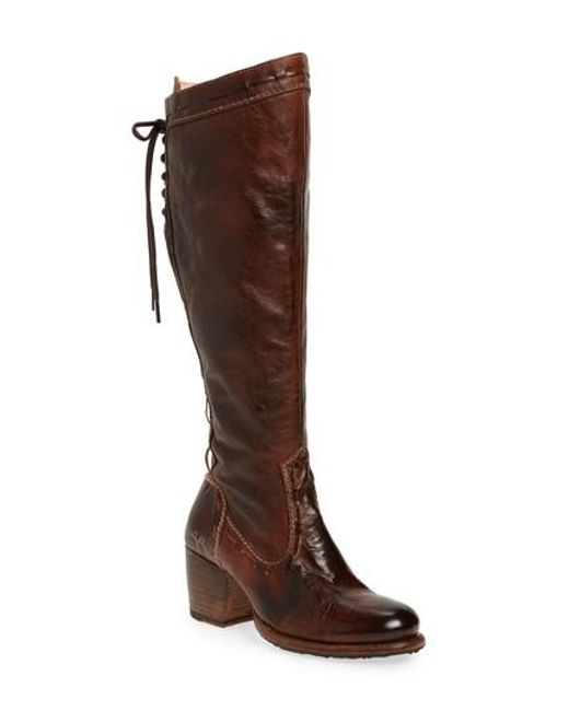 Bed Stu | Brown Fortune Knee High Boot | Lyst