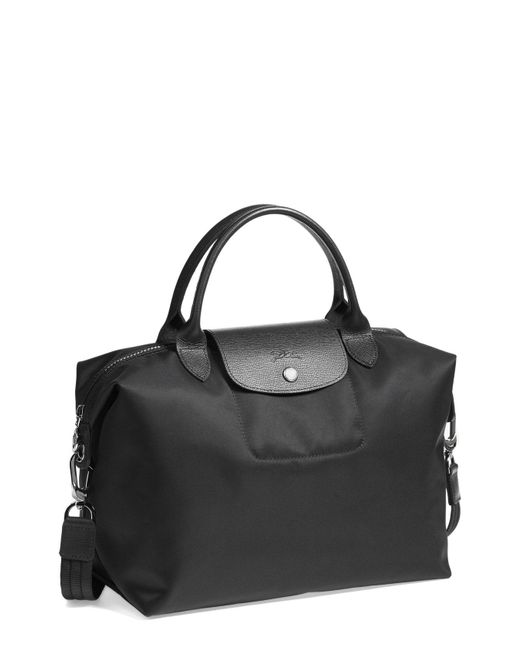 Longchamp - Natural 'medium Le Pliage Neo' Nylon Top Handle Tote - Lyst