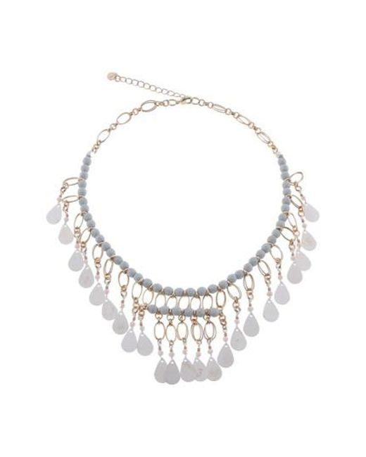 Nakamol - Metallic Metal Fringe Collar Necklace - Lyst
