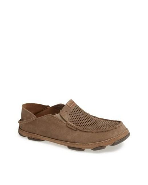 Olukai - Brown 'moloa Kohana' Slip-on for Men - Lyst