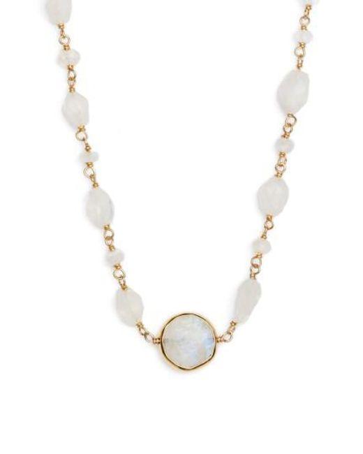 Ela Rae | Metallic Libi Coin Pendant Necklace | Lyst