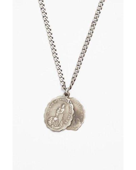 Miansai | Metallic 'saints' Pendant Necklace for Men | Lyst