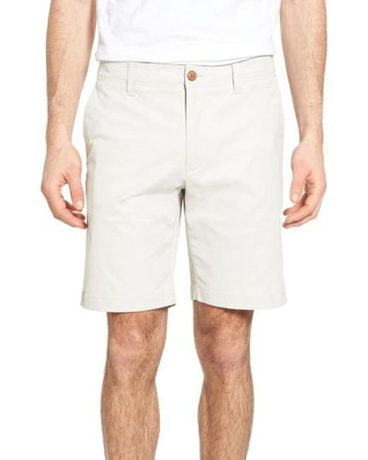 Tailor Vintage   White Performance Chino Shorts for Men   Lyst