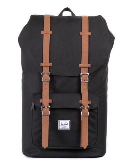 Herschel Supply Co. - Black 'little America' Backpack for Men - Lyst