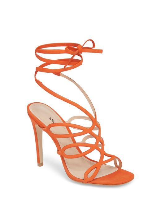 Schutz - Orange Nivia Sandal - Lyst