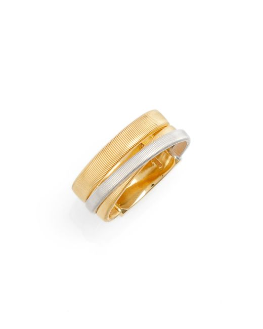 Marco Bicego - Metallic Masai Two-tone Ring - Lyst