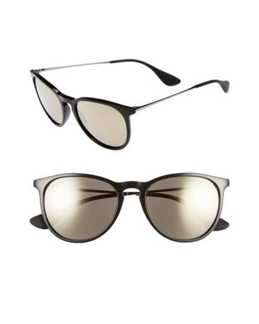 Ray-Ban   Black Youngster Velvet 55mm Sunglasses   Lyst