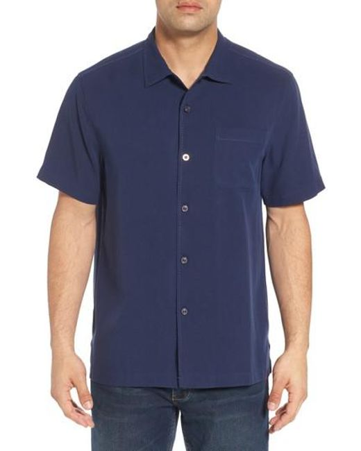 Tommy Bahama | Blue Catalina Silk Camp Shirt for Men | Lyst