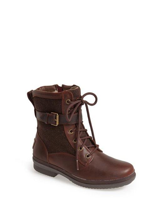 UGG | Brown Ugg Kesey Waterproof Boot | Lyst