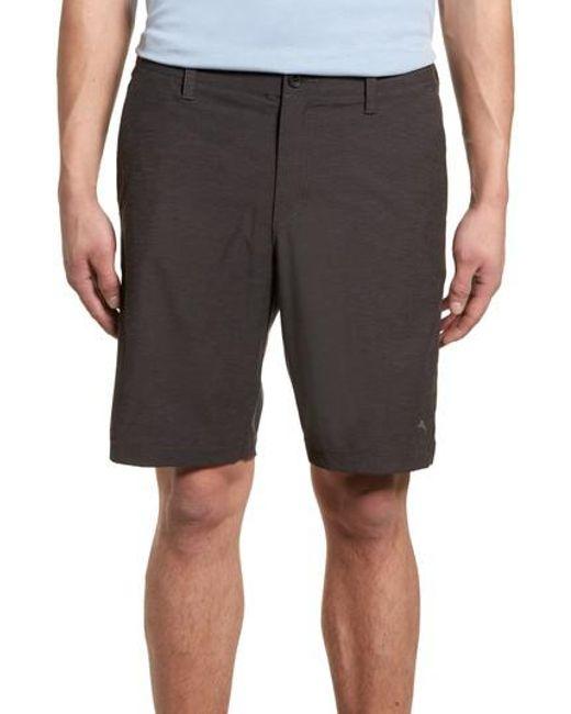 Tommy Bahama - Black Chip & Run Shorts for Men - Lyst