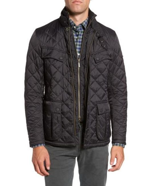 Lyst - Barbour International Windshield Quilted Jacket in Black ... : international quilted jacket - Adamdwight.com