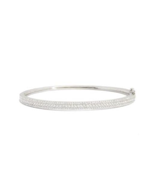 Bony Levy | Metallic Amara Diamond Hinge Bangle (nordstrom Exclusive) | Lyst
