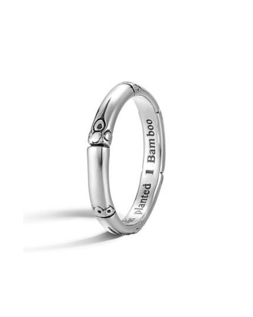 John Hardy   Metallic 'bamboo' Silver Ring   Lyst