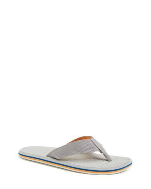 Hari Mari | Gray 'dunes' Flip Flop for Men | Lyst