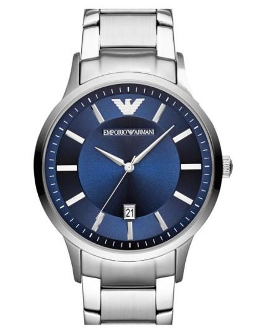 Emporio Armani   Metallic Round Bracelet Watch for Men   Lyst