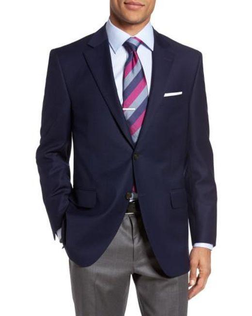 Peter Millar - Blue Flynn Classic Fit Wool Blazer for Men - Lyst