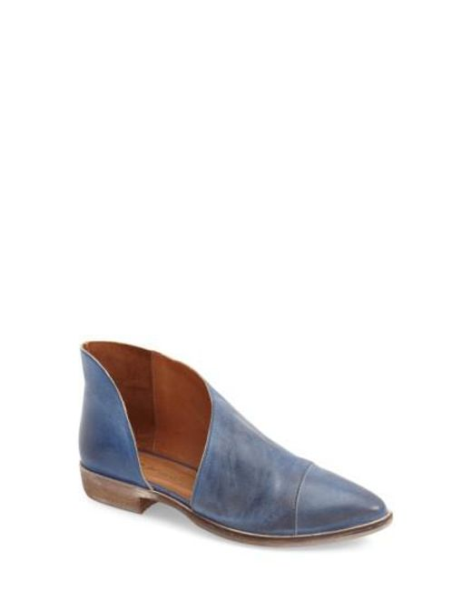 Free People | Blue Royale Pointed-Toe Boots | Lyst
